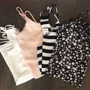 Mango Tops - TANK BUNDLE ! Size Small